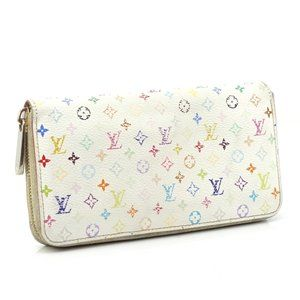 Auth Louis Vuitton Sarah Zippy Long #N0332X79